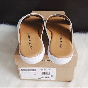 Lucky Brand Shoes - ✨New LUCKY BRAND Mahlay Leather Slide Sandals